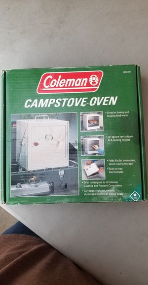 Coleman Campstove Oven NIB for Sale in Rialto, CA