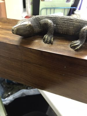 Black Walnut Collectable Designer Box for Sale in Fort Worth, TX