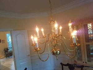 brass chandelier for Sale in Fairfax, VA