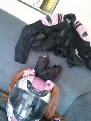 Motorcycle gear for women for Sale in Fountain, CO