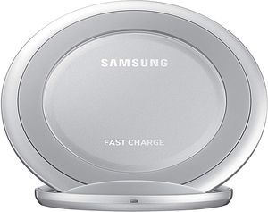 Samsung QI Fast Charge Wireless Charging Stand Pad Galaxy S8 S9 Note 9 - Silver for Sale in San Jose, CA