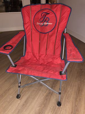 Tommy Bahama Red Camping Chair for Sale in Scottsdale, AZ