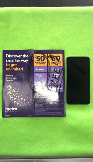 BUY AN IPHONE 6 PLUS AND GET YOUR FIRST MONTH WITH METROPCS FOR FREE for Sale in Chicago, IL