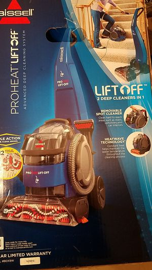 Bissell proheat lift off for Sale in Bullhead City, AZ