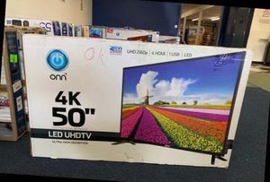 """TCL 50"""" and 55"""" smart Roku TV new open box KR for Sale in Dallas, TX"""