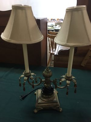 Antique table lamp for Sale in Nebo, NC
