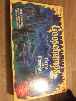 Goosebumps board game with pieces for Sale in Fort Worth, TX