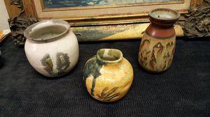 Handmade decorative clay pots for Sale in La Mirada, CA