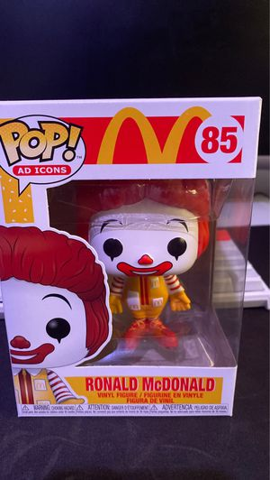 Ronald McDonald Funko Pop for Sale in Chula Vista, CA