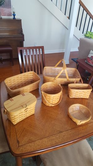 Longaberger Baskets, new condition for Sale in Orange, CA