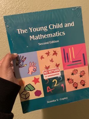 The young child and mathematics second edition for Sale in Los Angeles, CA