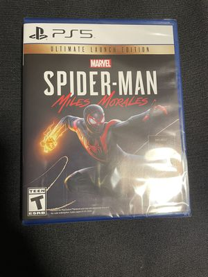 Marvel's Spider-Man: Miles Morales Ultimate Launch Edition - PlayStation 5 PS5 for Sale in Montebello, CA
