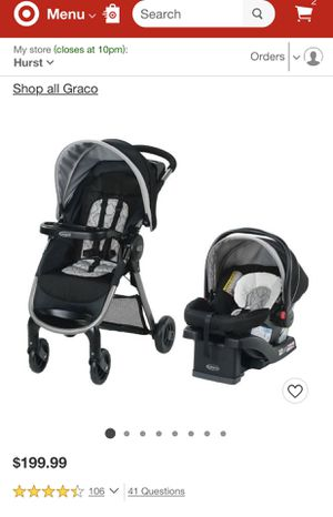 Graco FastAction SE Travel System for Sale in Lindale, TX