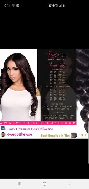 Luxe•ISH Premium Hair Collection for Sale in Lathrup Village, MI