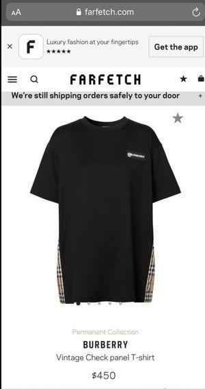 Burberry women's shirt for Sale in Seattle, WA