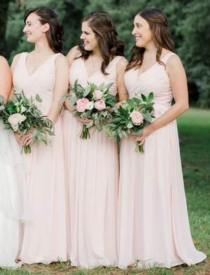 Bill Levkoff Bridesmaid Dress Style 730 in Petal Pink for Sale in Alexandria, VA