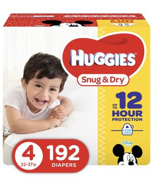 Diapers Huggies Snug and Dry size 4 for Sale in Cutler, CA