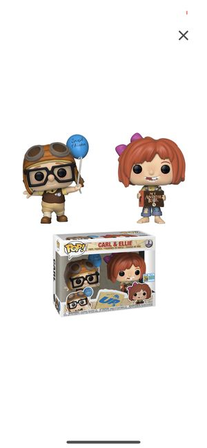 FUNKO POP! Up! Carl & Ellie 2019 summer convention limited edition exclusive for Sale in Falls Church, VA