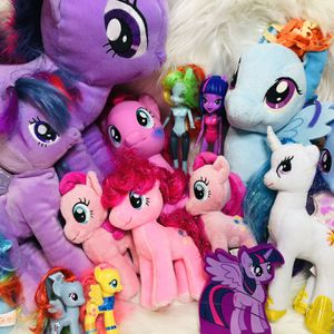 Giant My Little Pony Toy Lot Plushes Brushables for Sale in Largo, FL