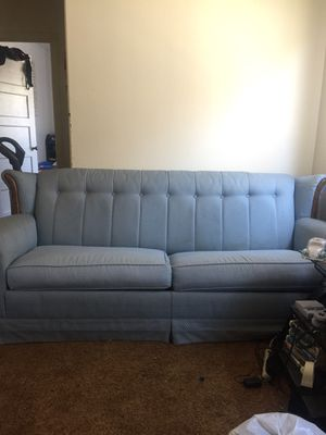Free couch with pull out bed for Sale in Guadalupe, CA