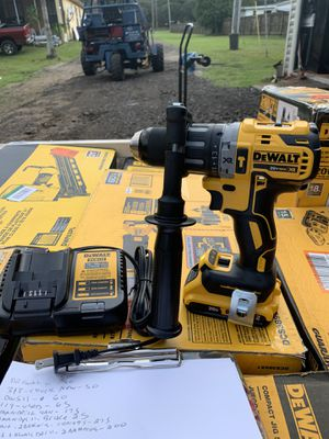 Dewalt brushless Xr 3 speed hammer drill with battery not negotiable for Sale in Plant City, FL