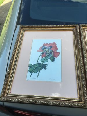 Framed Floral Paintings for Sale in Raleigh, NC
