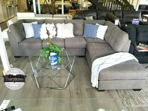$799 FREE DELIVERY! BRAND NEW GREY SECTIONAL SOFA for Sale in Oviedo, FL