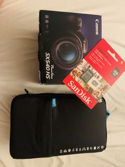 Canon Camera Power Shot SX540HS for Sale in San Jose,  CA