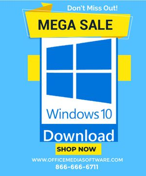 Windows 10 professional download version for Sale in Los Angeles, CA