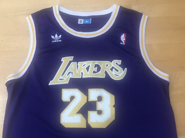 pretty nice 68f2f bcd89 LeBRON JAMES ~ LAKERS ADIDAS HARDWOOD CLASSIC JERSEY ~ Sz XL for Sale in  Cupertino, CA - OfferUp