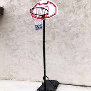 """(NEW) $50 Kids Junior Sports Basketball Hoop 28x19"""" Backboard, Adjustable Rim Height 5' to 7' for Sale in Pico Rivera, CA"""