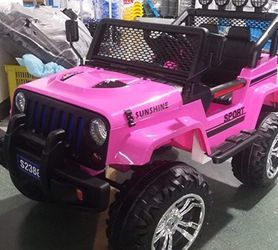 Ride On Toy Jeep For Kids 3-8 for Sale in Modesto,  CA