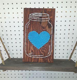 Mason Jar string art for Sale in Englewood, CO