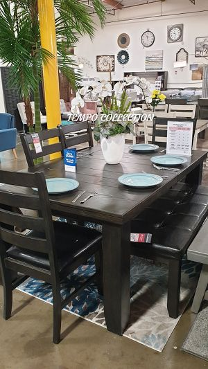 NEW IN THE BOX. 6PC DINING ROOM SET, SKU# TC8810RS for Sale in Santa Ana, CA