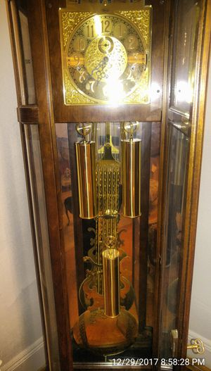 Antique grandfather clock for Sale in Queens, NY