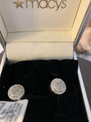 Brand new diamond post earrings for Sale in Scottsdale, AZ