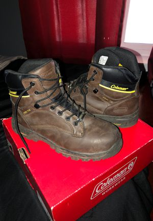 Coleman steeltoe work boots for Sale in Visalia, CA