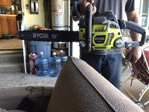 "Ryobi 18"" chainsaw - brand new - never used for Sale in San Diego, CA"