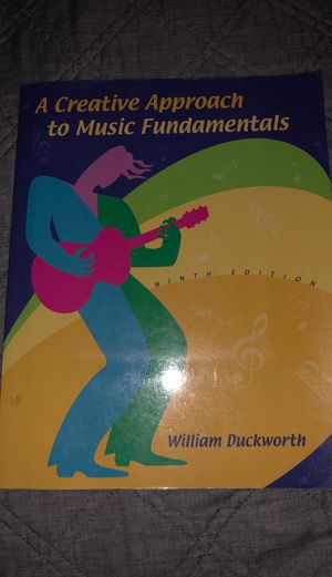A Creative Approach to Music Fundamentals for Sale in Chandler, AZ