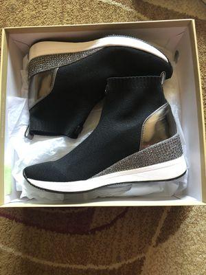 Michael Kors 9.5 Women's Black Skyler Sneaker Booties for Sale in Southfield, MI
