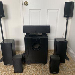 Onkyo Surround Sound Speaker System for Sale in Chino Hills, CA