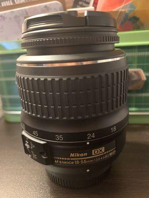 Nikon AF-S Nikkor 18-55mm F3.5-5.6 Lens for Sale in North Las Vegas, NV