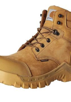 Carhartt Work Boots Wheat Nubuck 10 1/2 Waterproof Oil Resistance Slip Resistance for Sale in Las Vegas,  NV