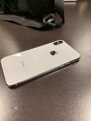 iPhone X 256gb Unlocked for Sale in Fairfax, VA