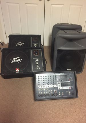 Peavey Sound Equipment for Sale in Fort Washington, MD