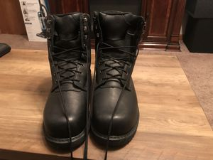 Lehigh steel toe oil resistant size 12 work boots for Sale in Fort Campbell, KY