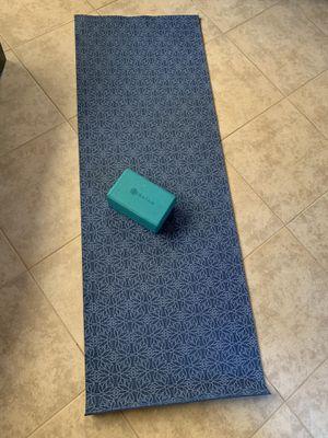 Yoga mat/ block for Sale in Turlock, CA