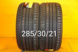 2 New tires 285/30/21 Llantas nuevas for Sale in Chula Vista, CA