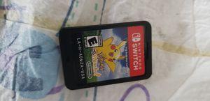 Pokemon lets go pikachu for Sale in Arlington, TX