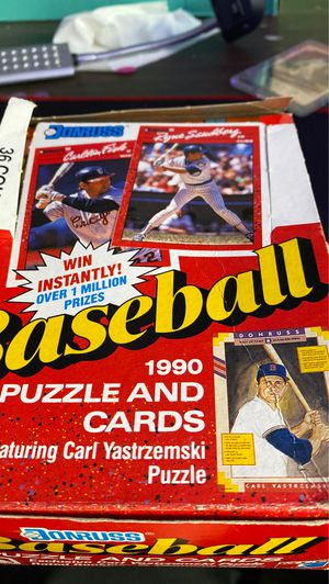 1990 puzzle and cards baseball for Sale in Penndel, PA